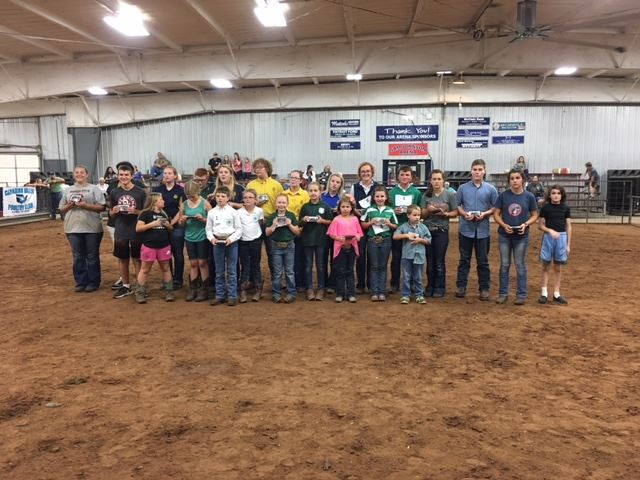 Showmanship winners