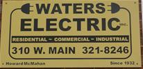 waters electric